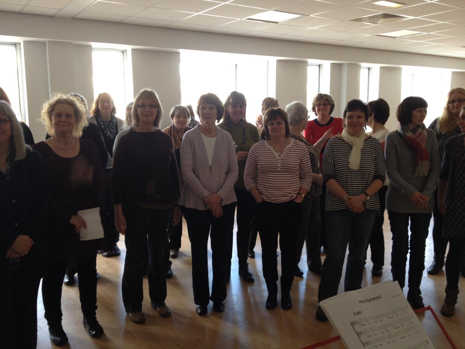 Anton Hecht Hand Music 1.3.2014 choir indoors