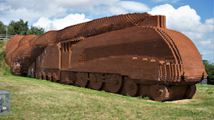 Elaine Vizor - Brick Train